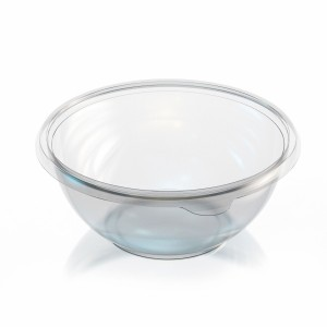 Clear Salad Bowl 1,000cc 32 oz. VIP